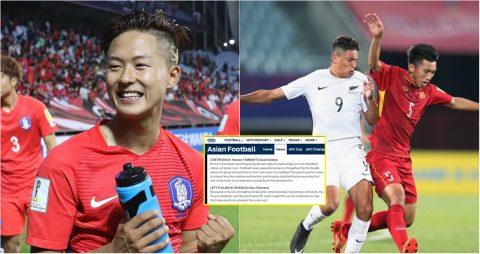 Đội hình tiêu biểu châu Á tại World Cup U20: Việt Nam đóng góp một cái tên