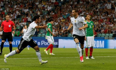 """Nghiền nát Mexico, """"Cỗ xe tăng"""" Đức tái ngộ Chile trong trận chung kết"""