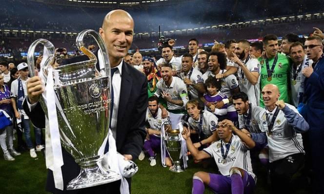 Phá bỏ lời nguyền C1, Real của Zidane được bình chọn là CLB vĩ đại nhất lịch sử