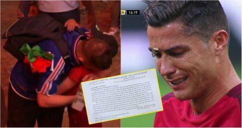 Nhờ công Ronaldo, hình ảnh đẹp nhất EURO 2016 xuất hiện trong đề thi Đại học Việt Nam khiến fan sửng sốt