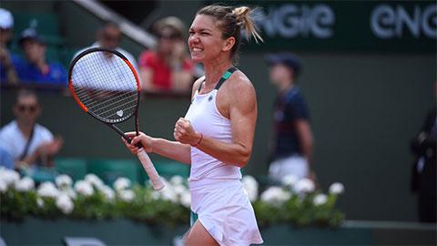 Simona Halep nhẹ nhàng vượt qua vòng bốn Roland Garros
