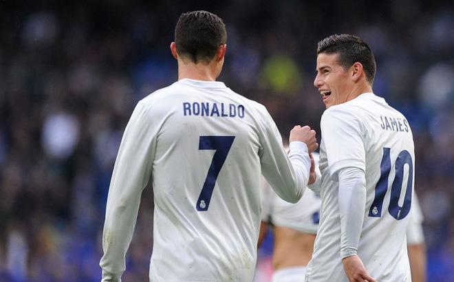 Ronaldo chính thức yêu cầu Real giữ lại James Rodriguez khiến fan sướng rơn