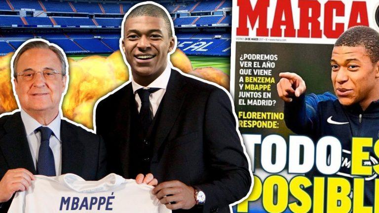 8Live đưa tin Real Madrid dốc toàn lực chiêu mộ Mbappe
