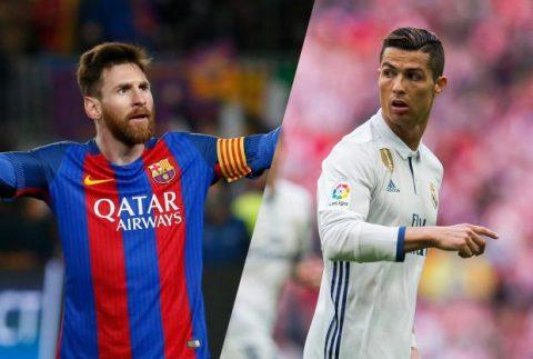 TOP 10 cầu thủ chạy nhanh nhất hành tinh năm 2017: Ronaldo, Messi tụt hạng thê thảm