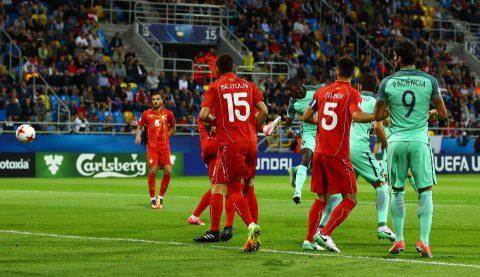 VIDEO:  U21 Macedonia 2-4 U21 Bồ Đào Nha (Bảng B VCK U21 châu Âu 2017)
