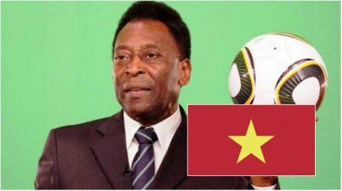 """""""Vua bóng đá"""" Pele bất ngờ tiết lộ chuyện được mời sang Việt Nam làm HLV"""