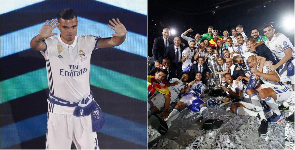 Đây là cái tên duy nhất Pepe không chào tạm biệt khi rời Real