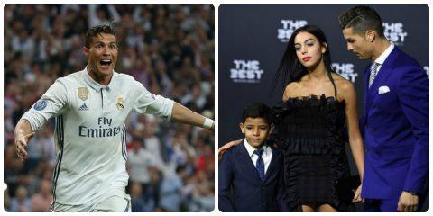 """Tin cực vui: Ronaldo """"lập cú đúp"""" với một người phụ nữ bí ẩn"""