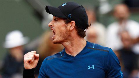 Roland Garros 2017: Hạ Del Potro, Murray thẳng tiến vào vòng bốn