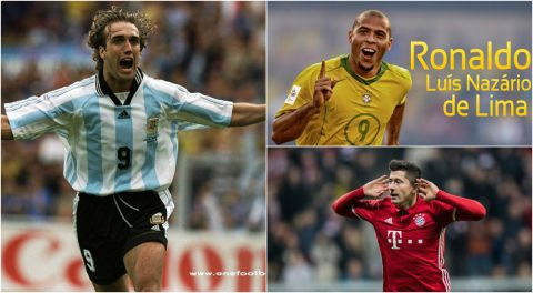 """Top những số 9 """"đỉnh"""" nhất lịch sử bóng đá thế giới"""