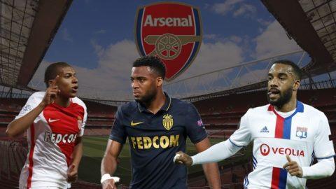 """Lộ diện 3 mục tiêu """"khủng"""" của Arsenal trong mùa hè"""