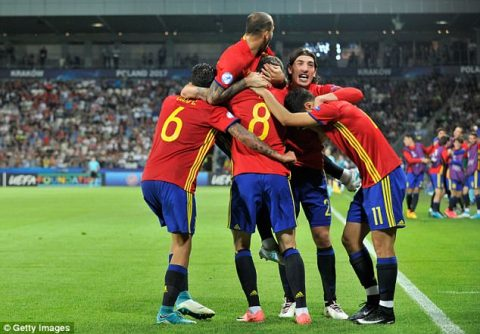VIDEO: U21 Tây Ban Nha 3-1 U21 Italia (Bán kết U21 châu Âu 2017)