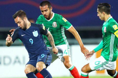 Thắng tối thiểu Mexico, U20 Anh cầm tấm vé cuối cùng vào bán kết