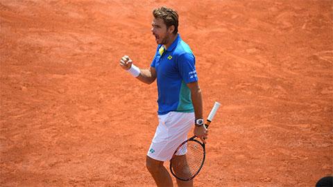 Xuất sắc đả bại Murray, Wawrinka hiên ngang vào chung kết Roland Garros 2017