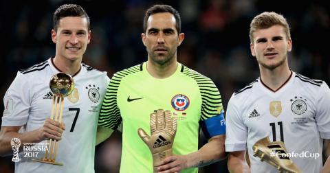 Đội hình tiêu biểu Confederations Cup 2017: Người Đức thống trị