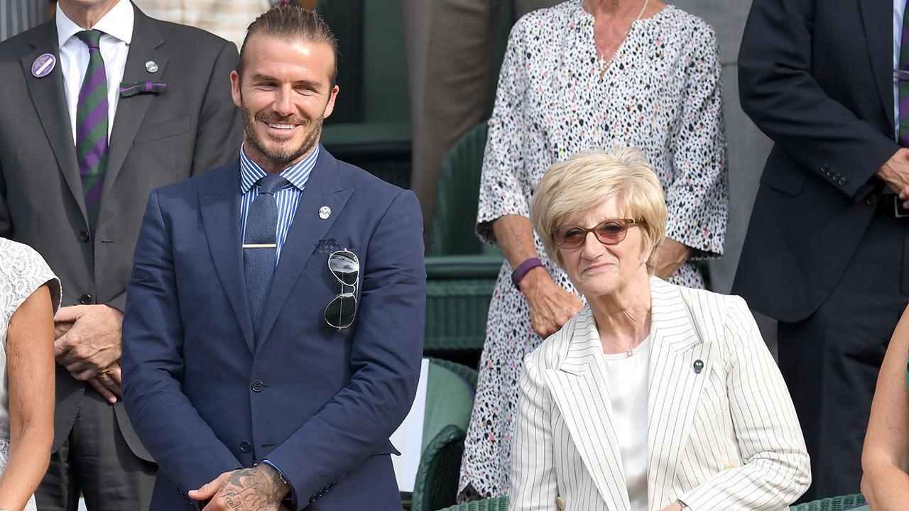 David Beckham bảnh chọe cùng mẹ đi cổ vũ Murray, Nadal tại Wimbledon