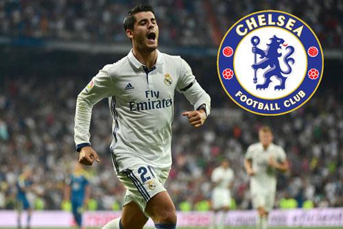 Morata chỉ cách Stamford Bridge đúng…10 triệu bảng