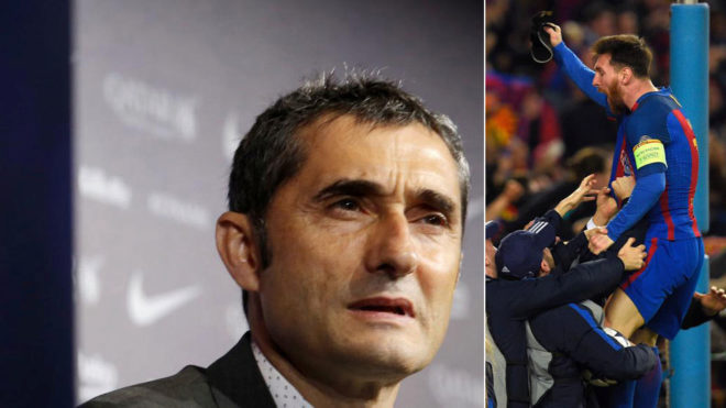 Ernesto Valverde xếp Messi đá tiền vệ: Bước tiến dài hay trượt sâu?