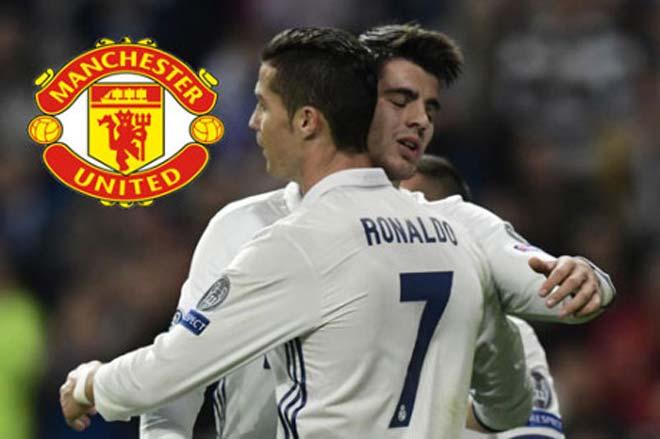 Jose Mourinho xác nhận có thể đón Morata, Ronaldo thì không