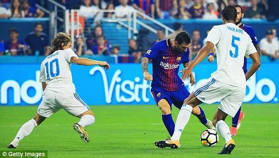 VIDEO: Real Madrid 2-3 Barcelona (ICC 2017)
