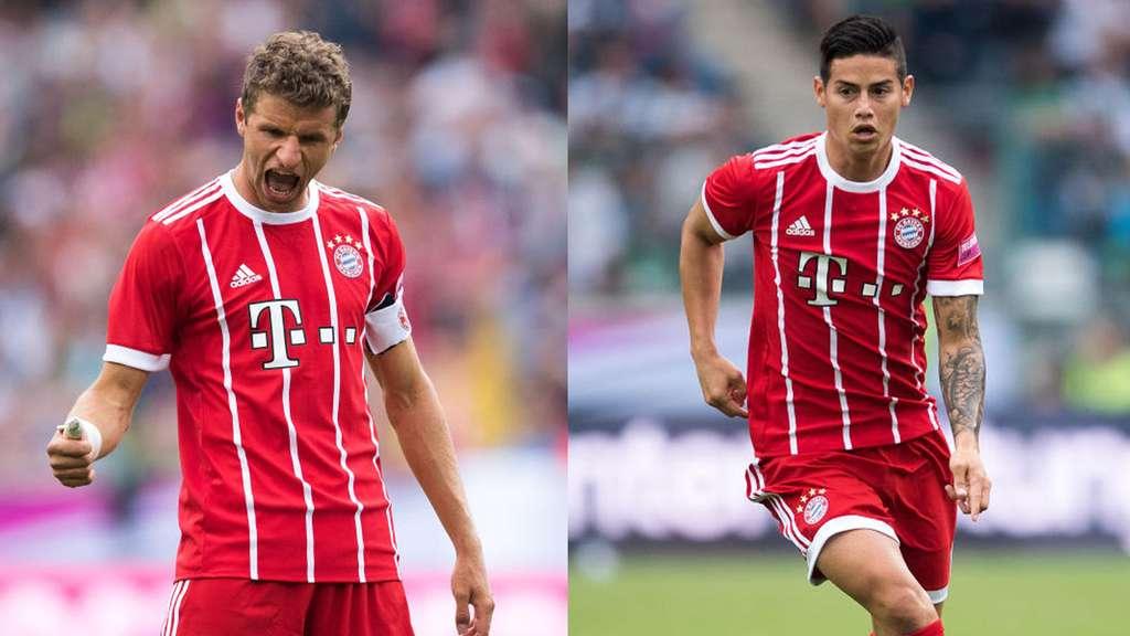 Bayern dậy sóng vì Muller và James Rodriguez