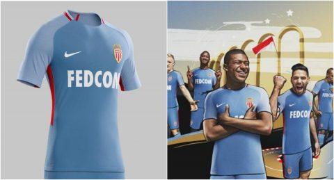 Monaco trình làng áo đấu sân khách, có Mbappe không Lemar