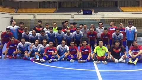 ĐT Futsal Việt Nam thắng tưng bừng trên đất Thái