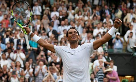 Rafael Nadal đè bẹp đối thủ để tiến vào vòng 3 Wimbledon