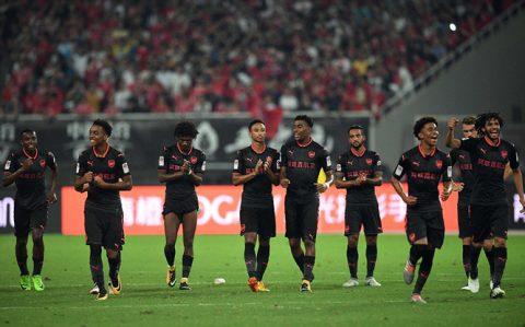 Sốc: 5 cầu thủ Arsenal bị ngộ độc thực phẩm trước trận gặp Bayern tại Trung Quốc