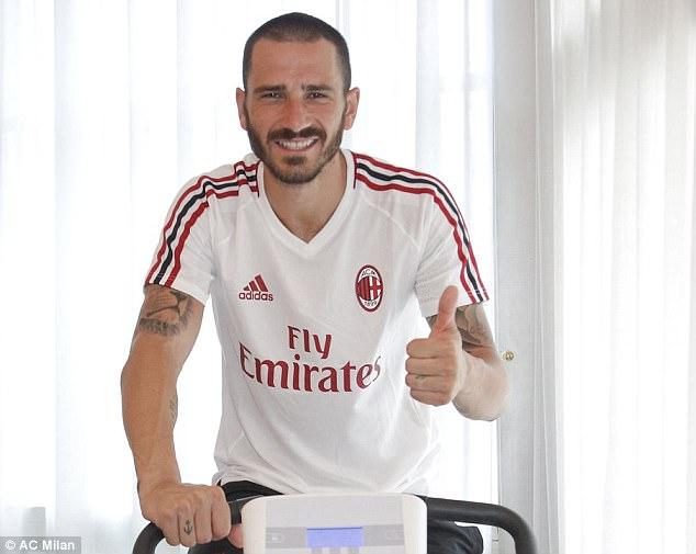 Bonucci tiết lộ lí do rời Juve và tham vọng sắp tới cùng AC Milan