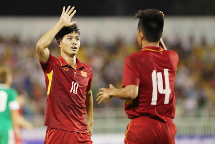 Top 5 tiền đạo hay nhất vòng loại U23 châu Á: Công Phương góp mặt