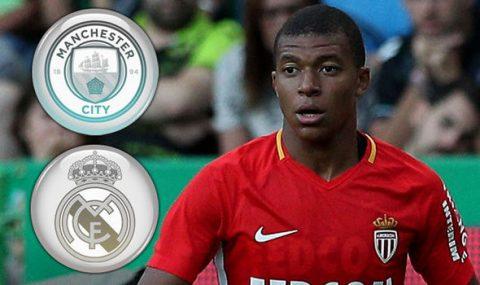 Sốc: Real và Man City hợp tác ép giá Monaco vụ Mbappe