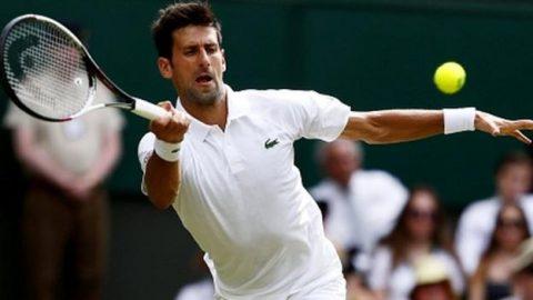 Djokovic thắng nhàn trong ngày ra quân tại Wimbledon