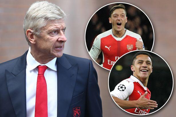 Arsene Wenger nói gì về tình hình hợp đồng của Sanchez – Oezil?