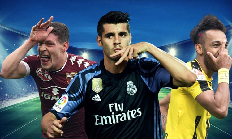 """Tiếp tục """"cơn điên"""" mua sắm, AC Milan nhắm 3 tiền đạo hàng khủng"""