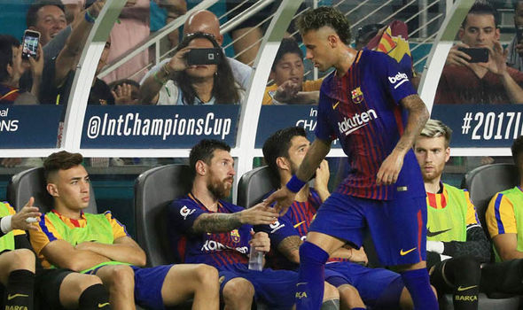 Messi đã nói lời chia tay đầy xúc động với Neymar