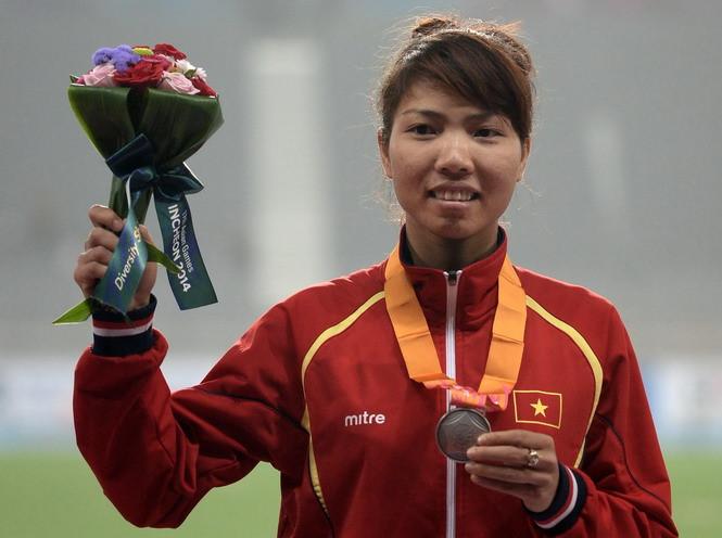 Bùi Thị Thu Thảo xuất sắc giành HCV nhảy xa châu Á 2017
