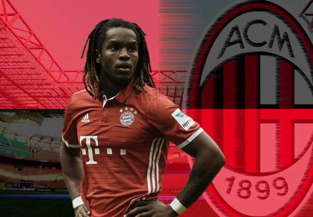 """Bayern """"hét giá' trên trời khiến AC Milan từ bỏ vụ Renato Sanches"""