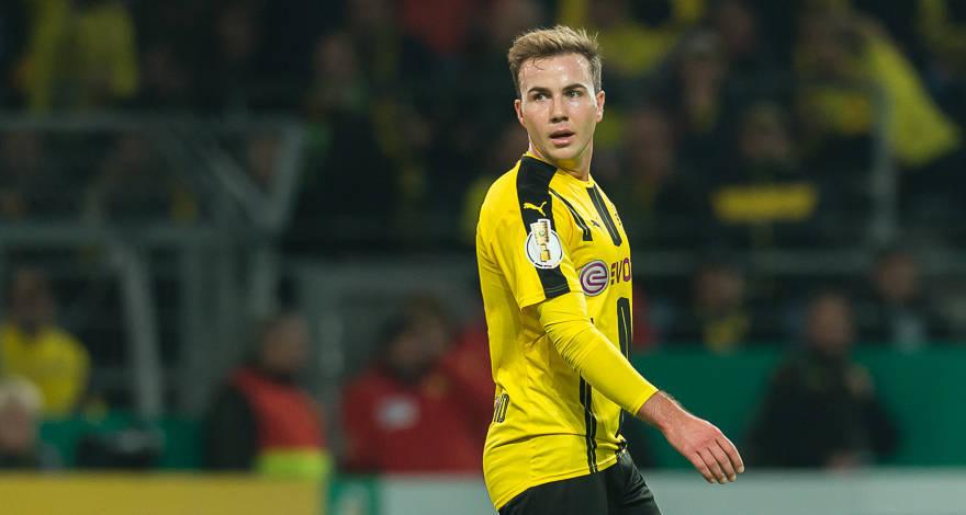 BLĐ Dortmund xác nhận Mario Gotze quay trở lại tập luyện