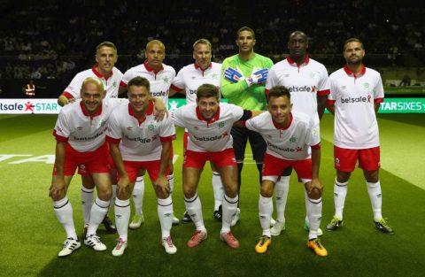 Đội huyền thoại Anh bất ngờ để thua Đan Mạch tại tứ kết Star Sixes