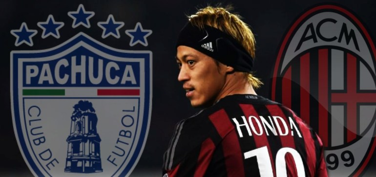 Chính thức: Keisuke Honda cập bến Mexico