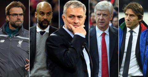 7 đội hình mạnh nhất giải Ngoại hạng Anh mùa 2017/18