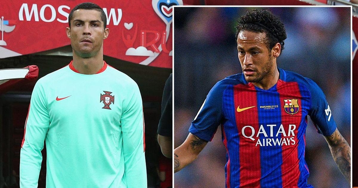 TIẾT LỘ: Ronaldo nhắn tin khuyên Neymar từ chối PSG để tới CLB này