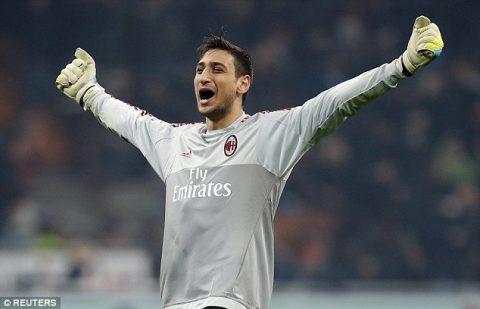 Nhận núi tiền từ AC Milan, Donnarumma chấm dứt nghiệp học