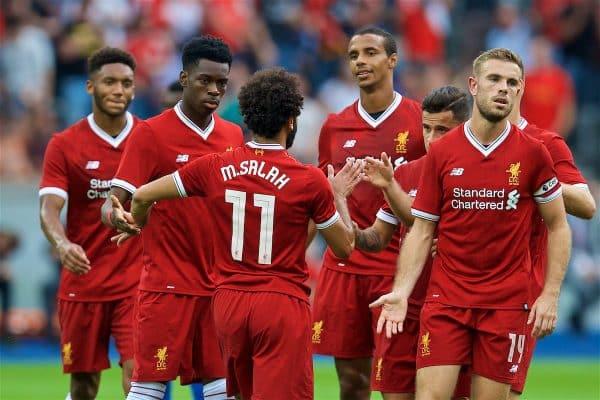 Salah ghi bàn, Liverpool dễ dàng đè bẹp Hertha Berlin