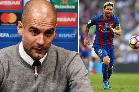 NÓNG: Messi từng muốn rời Barca đến Man City theo Pep Guardiola
