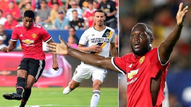 Jose Mourinho sẽ kết hợp song sát Rashford – Lukaku như thế nào?