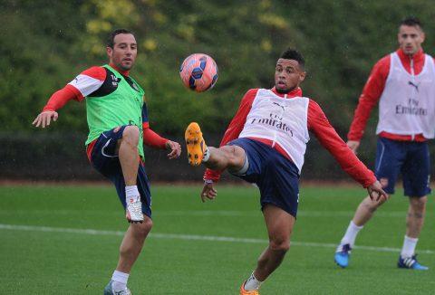 Sao Arsenal khoe ảnh tập luyện chờ ngày tái xuất sân cỏ