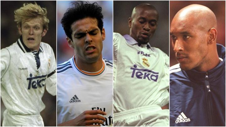 TOP 10 thương vụ chuyển nhượng tệ hại nhất lịch sử Real Madrid