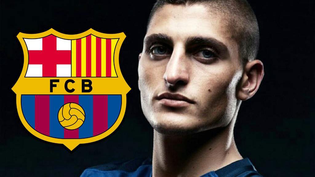 """Barcelona tung """"cú chốt"""" trong nỗ lực chiêu mộ Verratti"""